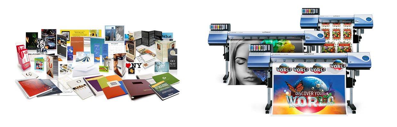 Tryksager og digitalt print på folie